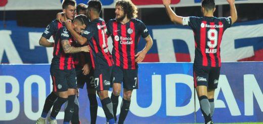 Copa Sudamericana: San Lorenzo jugó su mejor partido en el semestre y va a Uruguay con ventaja