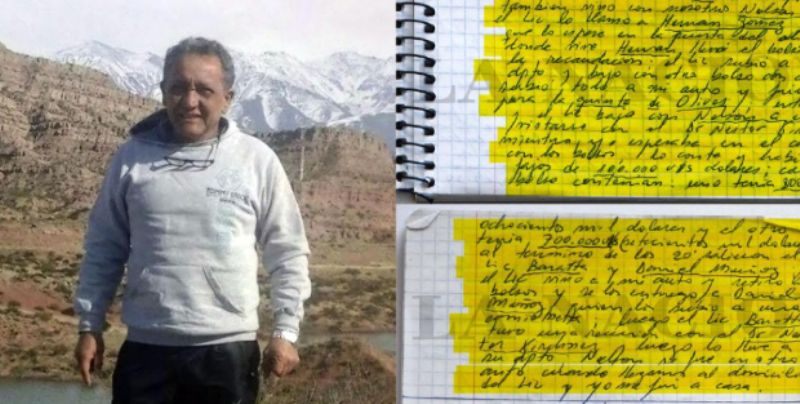 Investigación por coimas: habló el hombre que entregó los cuadernos y reveló por qué lo hizo