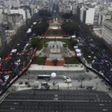 Marcha y vigilia por el aborto legal en Posadas