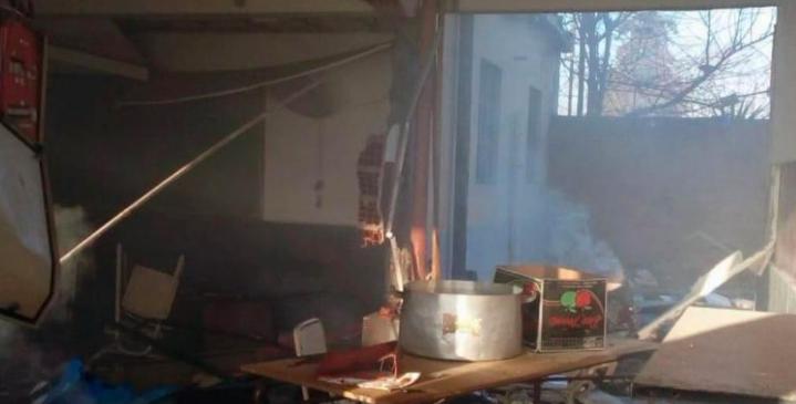 Explosión en una escuela en Buenos Aires:Difundieron los resultados de las primeras pericias en el lugar
