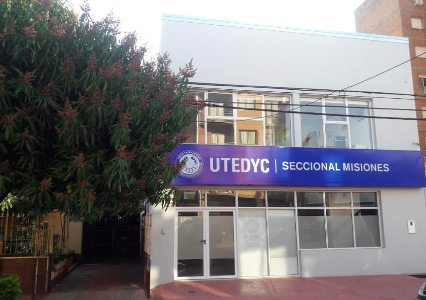 Ultiman detalles para la inauguración del nuevo edificio de Utedyc Misiones