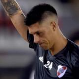 Ricardo Centurión pidió disculpas a la hinchada de Racing por los gestos en el partido contra River