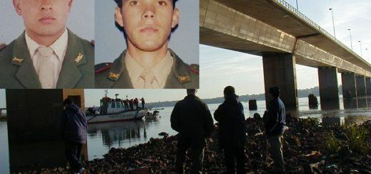 EXPEDIENTES, muerte bajo el puente Posadas-Encarnación: 17 años después aún no se sabe en qué circunstancias fallecieron los gendarmes Antúnez y Aranda