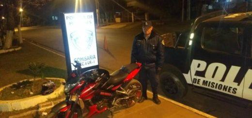 Posadas: el motochorro detenido por la madrugada había robado el rodado en el que se movía horas antes