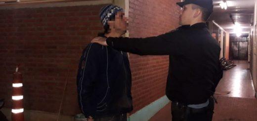 Molestaba a vecinos en horas de la madrugada y terminó detenido
