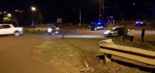 Un hombre falleció en Oberá tras perder el control de su auto e impactar contra un guardarrail