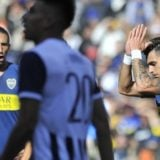 Boca llegó a Barcelona para disputar hoy el Trofeo Joan Gamper