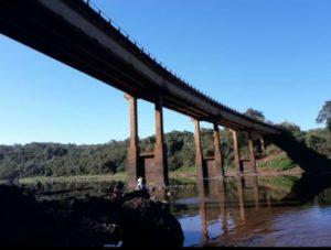 Casi secos arroyos y ríos en Misiones a causa de la falta de lluvia en Brasil