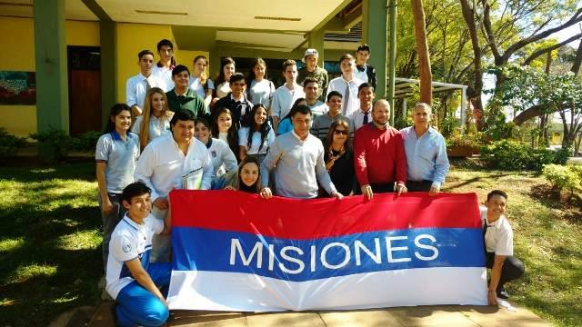 Misioneros participan del 1° foro de centros de estudiantes en Formosa