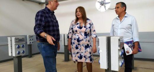 El Gobernador Passalacqua recorrió la primera escuela de técnica que funcionará en Itaembé Guazú, obra conjunta entre la Provincia y el INET