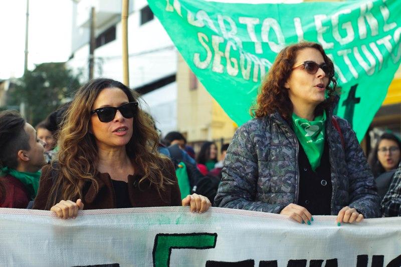 Se realizó en Posadas una marcha a favor del aborto legal