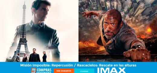Si te las perdiste: Misión Imposible y Rascacielos en el IMAX de Posadas...Ingresá aquí y adquirí las entradas en Compras Misiones...