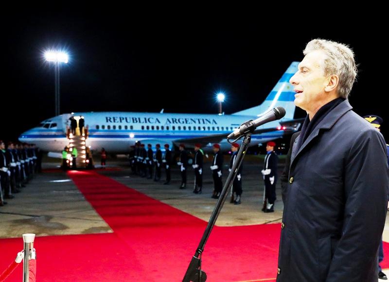 Macri ya está en Paraguay para participar de la asunción del nuevo presidente Mario Abdo Benítez
