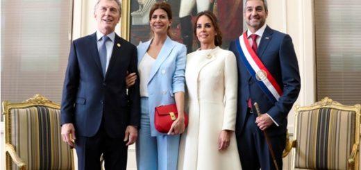 Macri asistió a la ceremonia de asunción del nuevo presidente de Paraguay