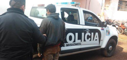 """Eldorado: atraparon a """"Nene Ulises"""" tras ocasionar desorden dentro de un colectivo urbano y robarle dinero al chofer"""