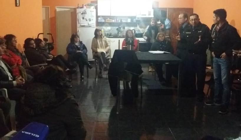 El Foro de Seguridad de la Comisaría 13° se reunió en la chacra 142