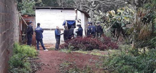 En Iguazú hicieron la reconstrucción del crimen de Ruth Gómez: el novio volvió a decir que ella recibió un balazo accidental