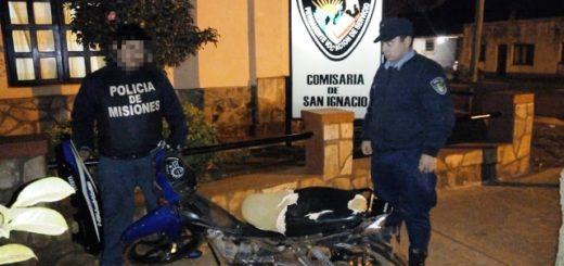 Una motocicleta más fue recuperada en cuestión de horas por la Policía
