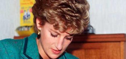 La explosiva carta de Lady Di en la que acusa al príncipe Carlos de planear un accidente