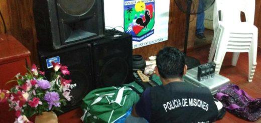 Eldorado: saquearon un templo evangélico y tras una rápida investigación, la Policía dio con lo robado