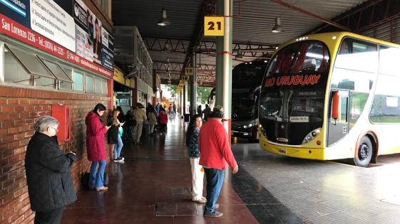 Toque de Andén: acuerdan una tregua por 15 días y se normaliza el servicio en la Terminal