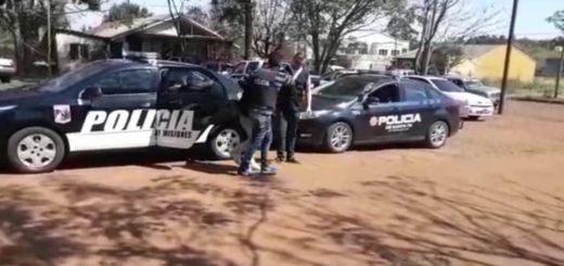 Trasladaron desde Apóstoles a Santa Fe al homicida detenido la semana pasada