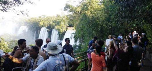 Cataratas cerró un excelente fin de semana y se acerca al millón de visitantes