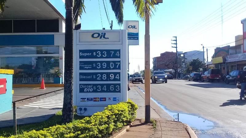El precio de las naftas se mantiene en Posadas aunque continúa el faltante en algunas estaciones