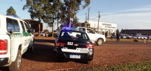 La Policía intensificó la búsqueda de los sujetos que intentaron ingresar a la Unidad Penal en Oberá