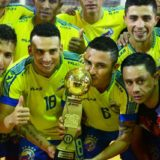 Con el misionero Antiveros, la selección Argentina de Futsal se entrena en Resistencia de cara a nuevos amistosos pensando en el mundial del 2019
