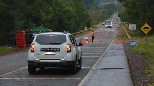 Se encuentra restringido el tránsito sobre el puente del arroyo Cuña Pirú