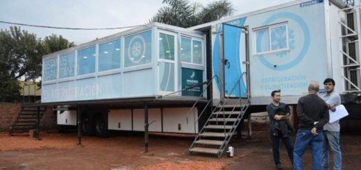 Aula Taller Móvil: Garuhapé recibirá formación en refrigeración