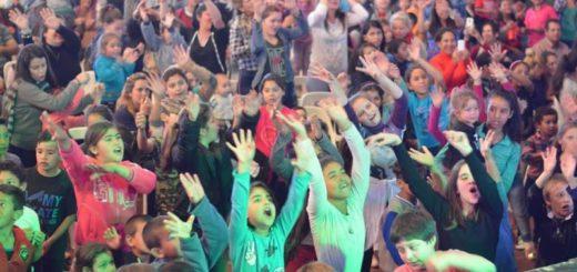 Alem festejó junto a miles de chicos el Día del Niño