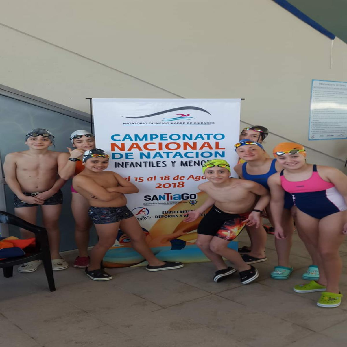 Natación: El Club Capri competirá, a partir de mañana, en el Campeonato Nacional de Natación Infantiles y Menores