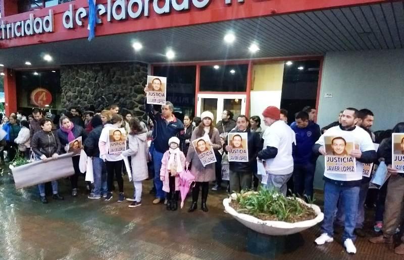 Eldorado: realizarán otra marcha reclamando justicia por Javier López