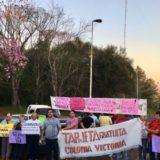 Corte de ruta en Victoria: Semana clave para el conflicto del peaje