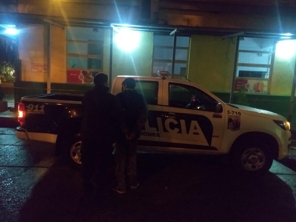 Detuvieron a un hombre por hurto en el Hospital Madariaga de Posadas
