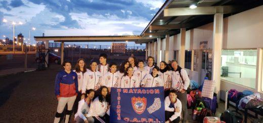 """Natación: Arranca el Torneo Internacional """"Copa Sajonia 97 aniversario"""" con la participación del Club Capri"""