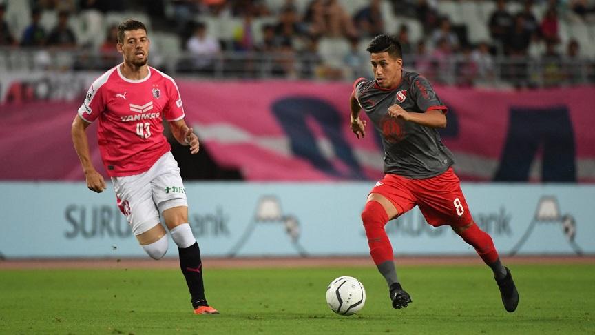 Fútbol: ventaja para El Rojo en Japón
