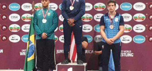 El misionero Nicolás Báez logró la medalla de bronce en el Panamericano Juvenil de Lucha Olímpica