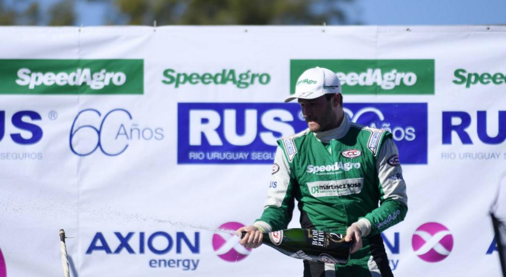Automovilismo: Canapino, el gran ganador de los 1000 km de Buenos Aires