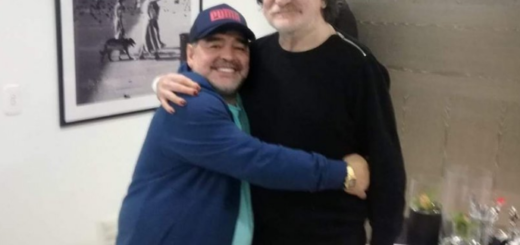 Mirá cómo fue el reencuentro entre dos grandes: Diego Maradona y Charly García