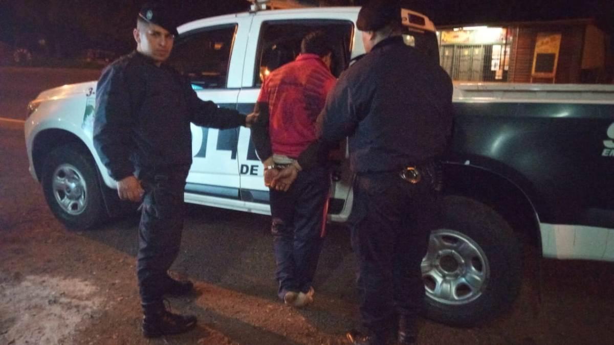 Un hombre fue detenido por amenazar con un cuchillo a su ex pareja en Eldorado