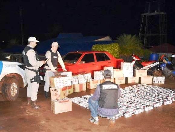 Prefectura decomisó mercadería ilegal valuada en más de medio millón de pesos en Eldorado