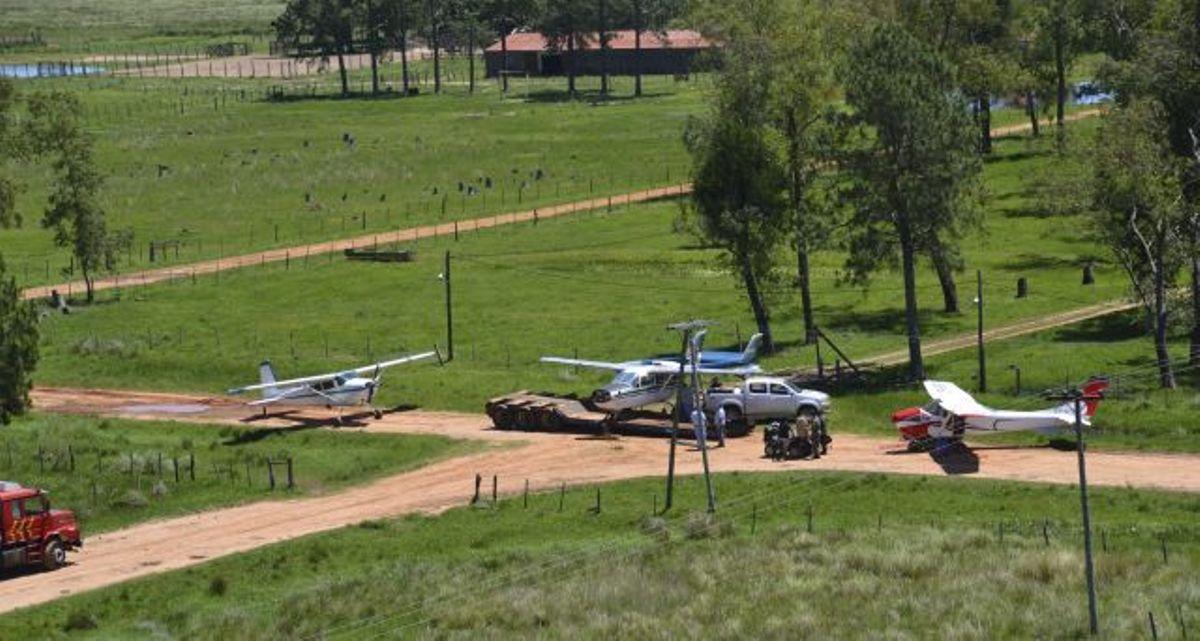 Narcoaviones: autorizaron al INTA a comenzar con la gestión de los campos decomisados en Corrientes