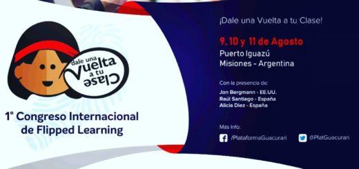 Con más de 1.500 docentes inscriptos comienza hoy en Puerto Iguazú el 1° Congreso Internacional de Flipped Learning