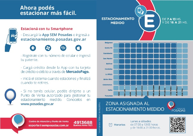 El SEM deja a la Municipalidad de Posadas unos 3 millones de pesos por mes