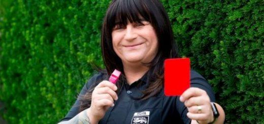 Inglaterra: Debutó la primera árbitro transgénero