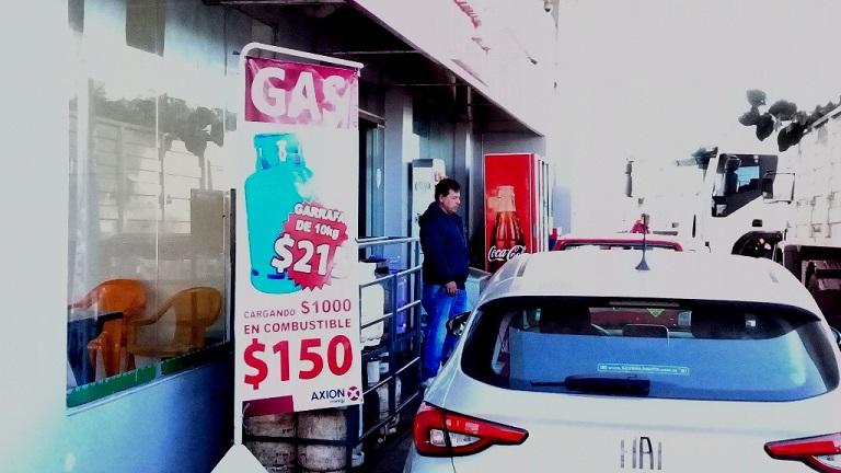 Posadas: Estación de Servicios ofrece gas más barato cargando desde 1000 pesos en adelante