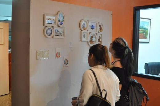 Expondrán obras de dieciséis artistas en la Galería del Dachary